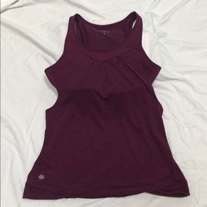 Athleta Tank with built in bra